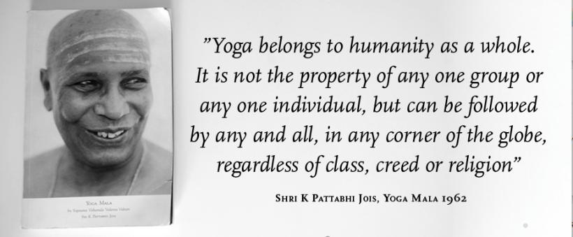 Yoga Harpenden Pattabhi Jois